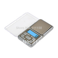 Wholesale Factory Supplies Mini Digital Precision Electronic Pocket Scales g g Digital Jewelry Scales Balance LCD Display With Retail Packaging