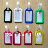 pvc card - 500 DHL Travel Luggage Tag cartoon Luggage Tag Pvc Luggage Tag Cartoon Checked Luggage Brand Boarding Card