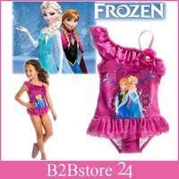 2014 New Girls Frozen Swimwear Girls Frozen SwimSuit Swim We...