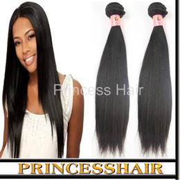 Extensions de cheveux bruns brésiliens 3 lots un lot de tissage de cheveux Virgin Remy non transformés peuvent être teints / ondulés / blanchis à partir de peut teindre remy extensions de cheveux fournisseurs