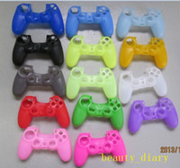 ps4 Protective Case Silicone Wholesale Camouflage Silicone Case for PlayStation 4 PS4 Xbox one Controller Soft Silicon Protective Sleeve Cover Skin Various Colors Fact