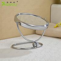 Wholesale 2014 New Design High Quality Professional make up Round Mirror Bathroom Safety Mirror