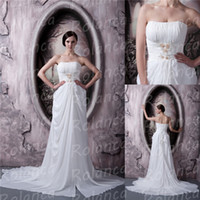 Cheap Reference Images high quality Best Strapless Chiffon quinceanera dress