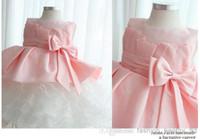 Wholesale Top Quality Princess Dress for Kids Girl s Pageant Dresses Flower Girls Dresses Satin Ribbon Organza Pageant Dresses Children Dresses