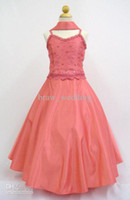 kids prom dresses - 2014 Top Quality Princess Dress for Kids Girl s Pageant Dresses New Girl Pageant Wedding Recital Party Prom Formal Dress
