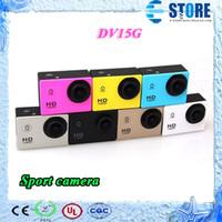 Wholesale 2014 New High Digital P Action Camera Sports Camera diving swimming recorder camera M Waterproof DV15G DHL free wu