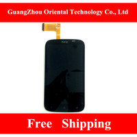 Wholesale http www aliexpress com item Guarantee high quality For HTC Desire X T328e LCD Screen with Touch Digitizer Assembly Free ht