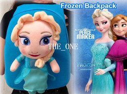 frozen girl anna elsa backpacks kids backpacks bag frozen bag plush doll frozen backpack frozen bag soft plush doll kids school bags