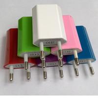 500pcs AC Power 1A US EU Plug USB Wall Travel Charger Adapte...