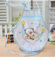 Cotton Beige Cartoon The new 2015 gauze double circular chinese-style chest covering The baby bib Pure cotton chinese-style chest covering 450 this summer
