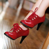 Women Pumps Spring and Fall Fashion Fall Stiletto Heel High Heels Women Shoes Red, Brown and Black Pumps Dress Shoes New Arrival 2014