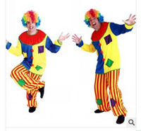 2015 Halloween costumes men The clown clothes The Clown Cost...