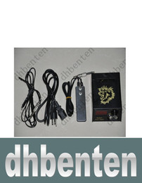 Wholesale lai34 HOT Pro LCD Digital Tattoo Power Supply Footswitch Clip cord Kit for Machine Gun Needle Grip