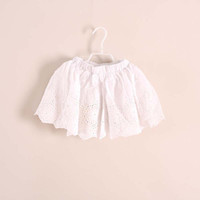 baby girl kids lace skirt pants flower floral tutu skirt sho...