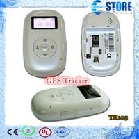 Wholesale Mini Portable Personal Tracker Children vehicel car GPS Tracker Tracking Device system TK105 M
