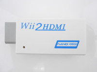 Wholesale Wii to HDMI Wii2HDMI Adapter Converter Full HD P Output Upscaling mm Audio Box