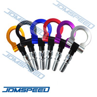 Wholesale JDMSpeed JDM FRONT ALUMINUM TOW HOOK FOR HONDA CIVIC TYPE R FN2