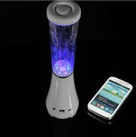 Cheap 2014New Water Dancing Bluetooth Speakers TF card U disk Mini portable Wireless Speaker dance speaker LED loudspeakers LYXS