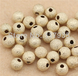 Wholesale 20beads lot quality pure copper rolled 14k gold filled 3-8mm spacer dull polishing round Loose beads jewelry making