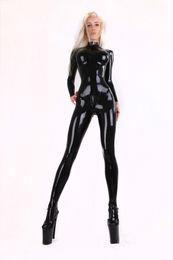 Wholesale pure rubber latex catsuit back zipper through crotch rubber catsuit latex zentai not faux leather not PVC rubber zentai