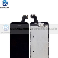 LCD Screen Panels home goods - Good Quality Tested For iPhone C LCD Screen Display With home botton Digitizer replacement