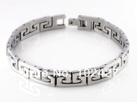 Wholesale Fashion High Quality Men s Stainless Steel Bracelet Link Wristband Bangle quot