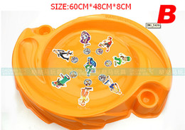 Wholesale 5pcs TOP Sales Beyblade Metal Fusion Arena spinning top arena beybalde stadium
