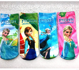Wholesale Frozen Child Clothes Kids Sock Baby Boys Grils Socks Children Socks Kids Boy Girl Knit Knee High Socks Child Clothing