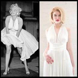 Discount White Marilyn Dress - 2017 Marilyn Monroe White Dress on ...