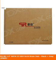 Wholesale RQ X7 quot SATA III SSD Solid State Disk Black Grey GB