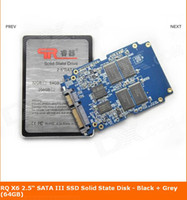 Wholesale RQ X5 quot SATA III SSD Solid State Disk Black Grey GB