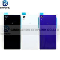 Wholesale Battery Cover Back Glass Panel Replacement For Sony For Xperia Z2 L50w D6503 D6502