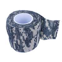 Wholesale 5CMx4 M Camo Wrap Outdoor Hunting Camping Camouflage Stealth Tape Waterproof