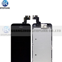 For Apple iPhone LCD Screen Panels 100% Brand New Best quality guarantee for iPhone 5S LCD with Touch Screen Digitizer Assembly with Frame Replacement Parts free shipping