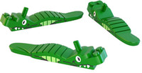 Plastics animal building - High Quality New Cute animal Building blocks demolition tool Crocodile Brick Separator