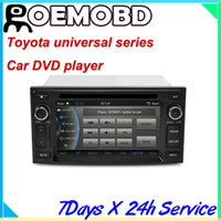 Wholesale NEW CASKA Car DVD player system for Toyota universal Car in dash unit inch X480 Windows CE CSR A9 DDR M CA019 UQ8 EC20210