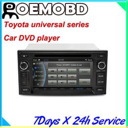 Wholesale NEW CASKA Car DVD player system for Toyota universal Car in dash unit inch X480 Windows CE CSR A9 DDR M CA019 UQ8 EC20210