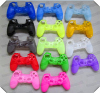 For Xbox Protective Case Silicone Big Discount Best quality New Soft Silicone Protective Sleeve Case Skin Cover for PlayStation 4 PS4 Xbox one Controller