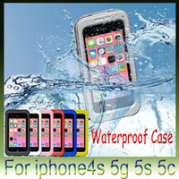 Wholesale Waterproof for iphone plus Colors Dirt Snow Shock Proof for iphone4s g s c iphone6 inch Case Cases Cell phones