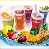 Wholesale NEWEST Zoku Shop sand ice cup smoothie cup ice cream machine self restraint slush maker shake maker