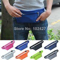 Wholesale Travel Handy Hiking Sport Fanny Pack Running Bum Bag aist Belt Zip Pouch New Waist Packs