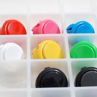 Wholesale 400pcs DHL Many Colors mm Arcade Buttons Push Buttons Arcade Game Machine Parts