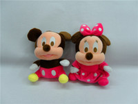Wholesale MN Lovely Mickey Mouse And Minnie Mouse Plush Toy Set Types Stuffed Toys For children s Gift