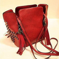 Retro Tassel Bucket Skulls Shoulder Bag Fashion Bag 106