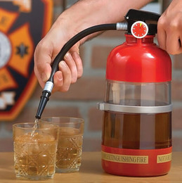 Creative wine beer machine hand-pressure fire extinguisher fun filled bar drinking game party toys GIFTS