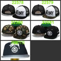 Wholesale Stussy Stock X Clot Skull No Snapback Snapbacks Cheap Adjustable Baseball Cap Hat Fitted Sport Hats Caps Snap Backs