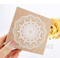 Wholesale Lovely Wooden Lace Stamp Round Doily Stamp x45mm Designs