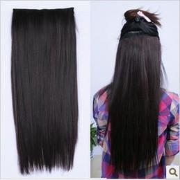 Wholesale Spot still America wig card straight hair piece hair piece hair piece pifa matte high temperature wire
