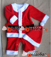 Wholesale New year kids colthing christmas suit baby special occasions boy wear beautiful Christmas hat Christmas clothes childrens outfit