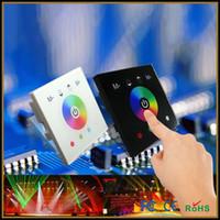 DC 12V  Touch Panel Controller Dimmer For RGB or RGBW LED Strip LED Panel Light,DC12V-24V Full Color Touch Controller